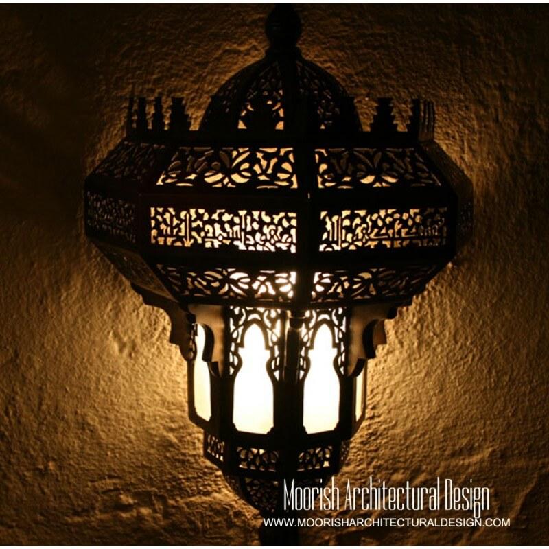 Moroccan Hotel Lighting