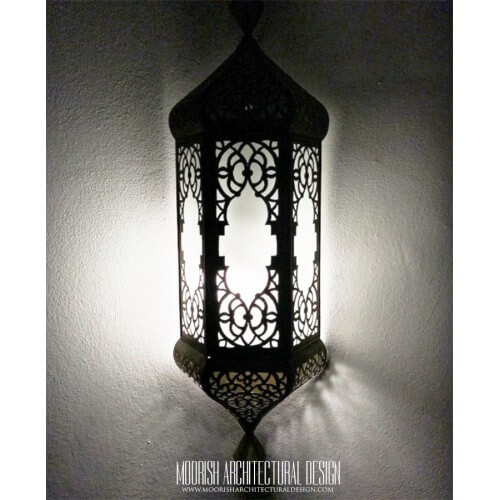 Traditional Moroccan Sconce 26