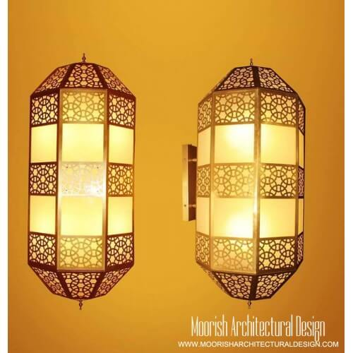 Modern Moroccan Sconce 15