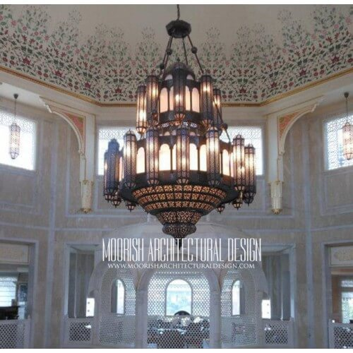 Traditional Moroccan Chandelier 12