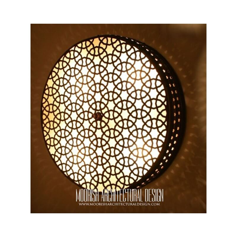 Exotic restaurant wall lights