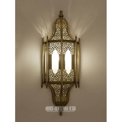 Traditional Moroccan Sconce 31