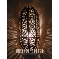 Moroccan Pierced Metal Wall Lights