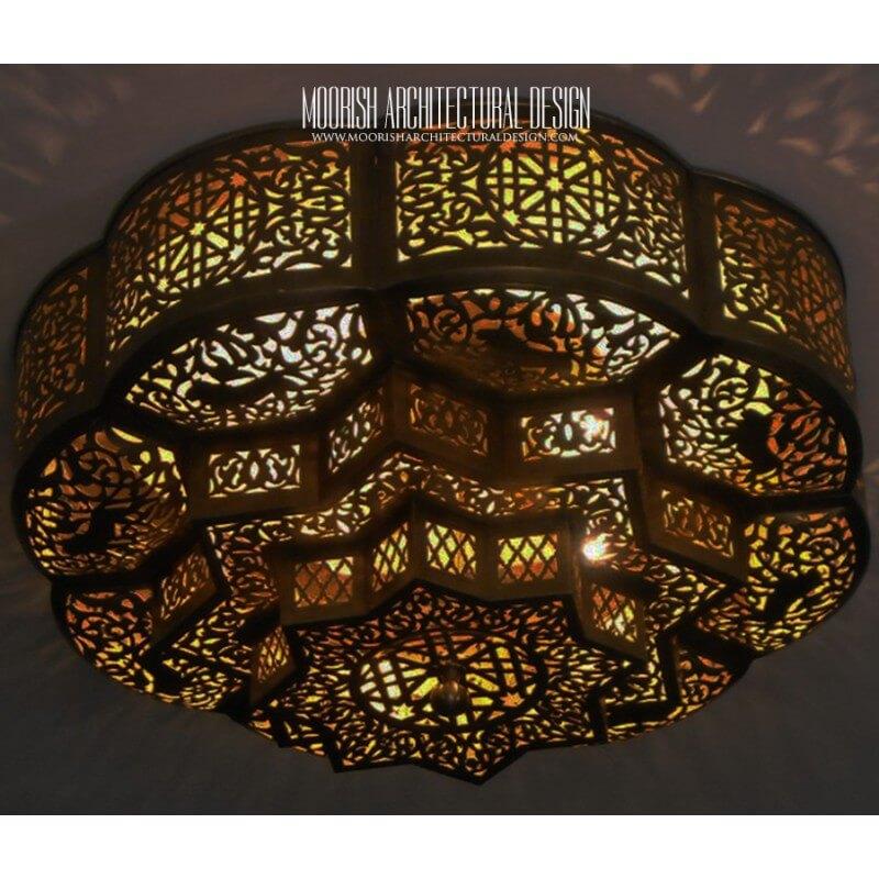 Moroccan Flush Mount Ceiling Lights