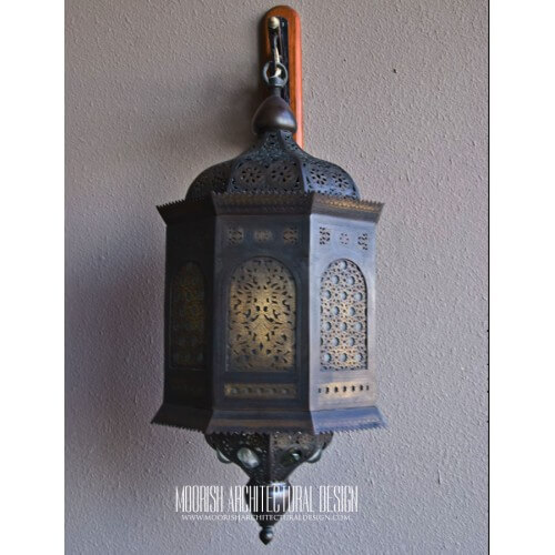 Moroccan Outdoor Wall Light 09