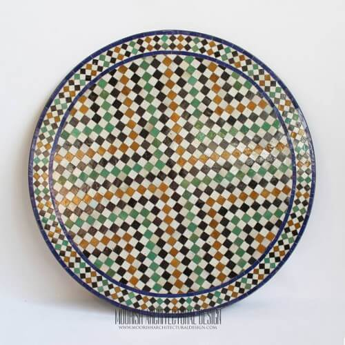 Moroccan mosaic table 08