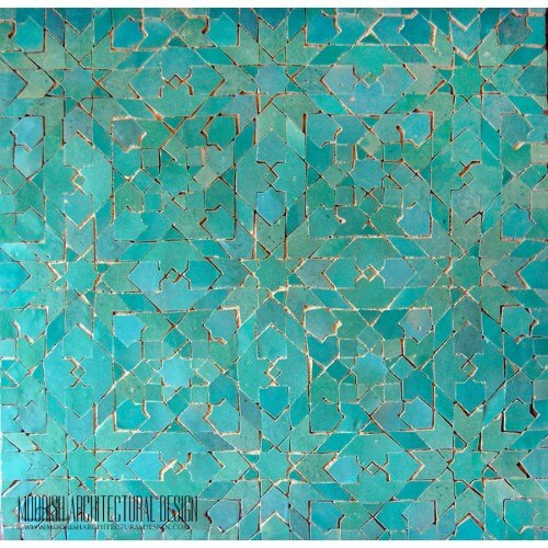 Moorish Modern Tile 09