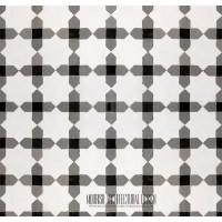 Moorish Monochrome tile