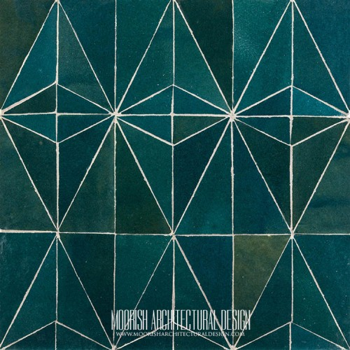 Moorish Modern Tile 12
