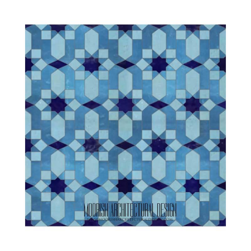 Moroccan Tile Santa Cruz - Moorish Tiles