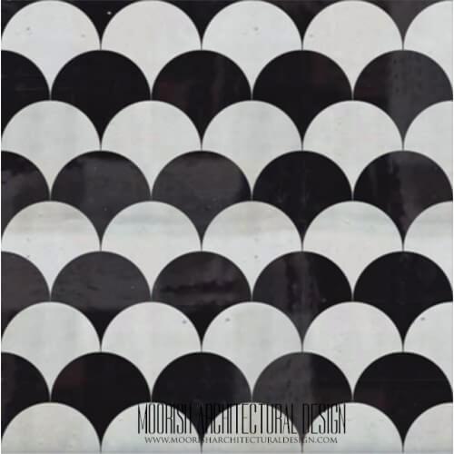 Moroccan Monochrome Tile 17
