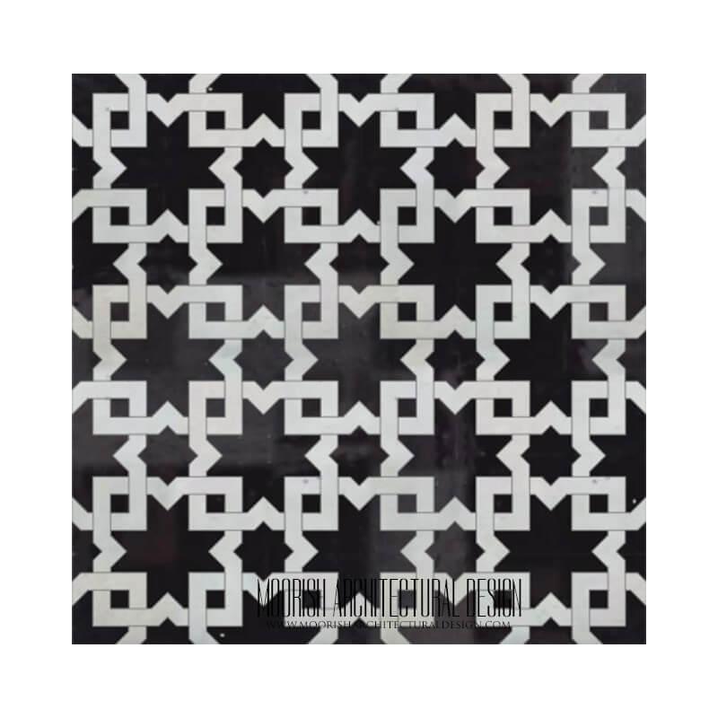 Black & White Moroccan Kitchen Designs