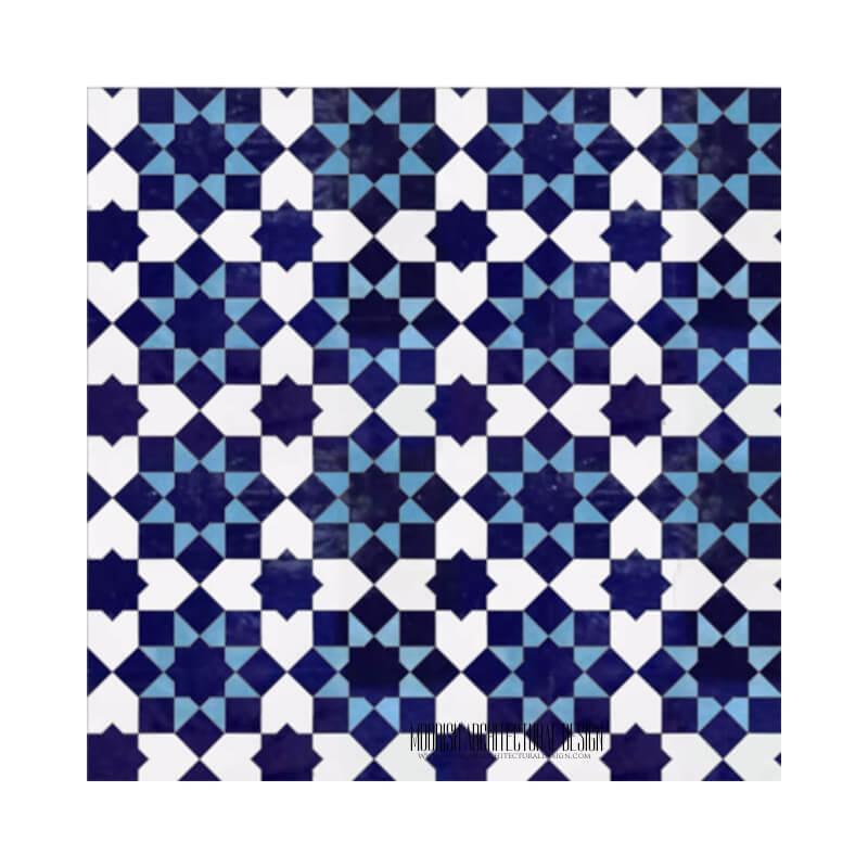 Modern Contemporary Moroccan Tile Backsplash