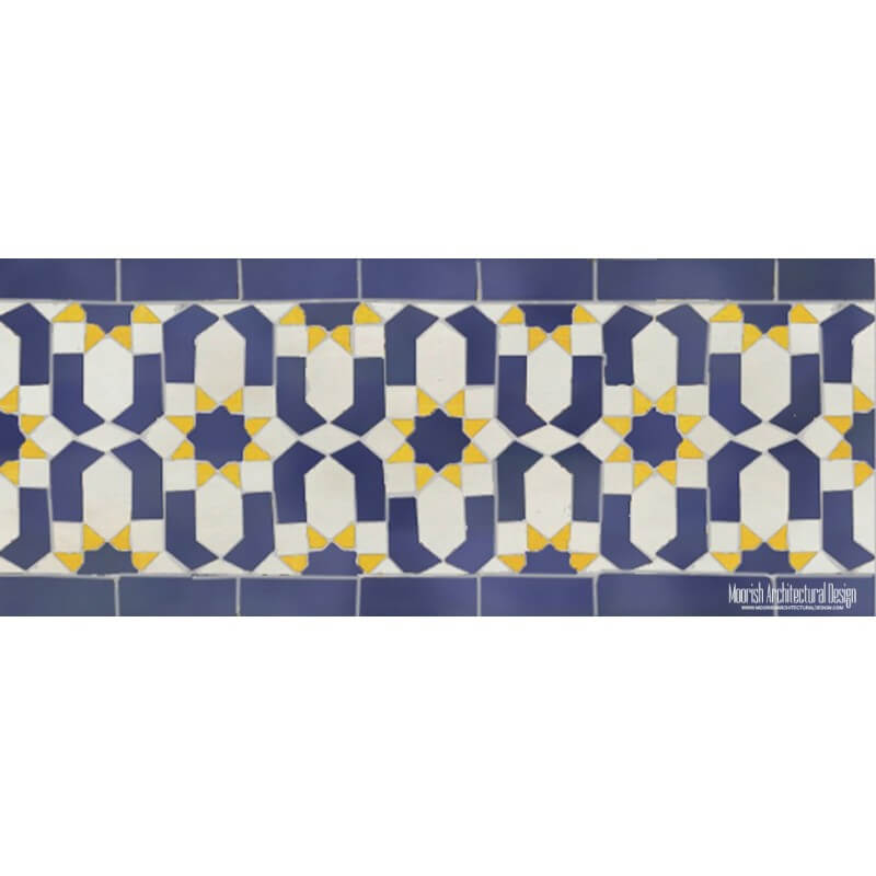 Moroccan Pool Tiles Houston Texas