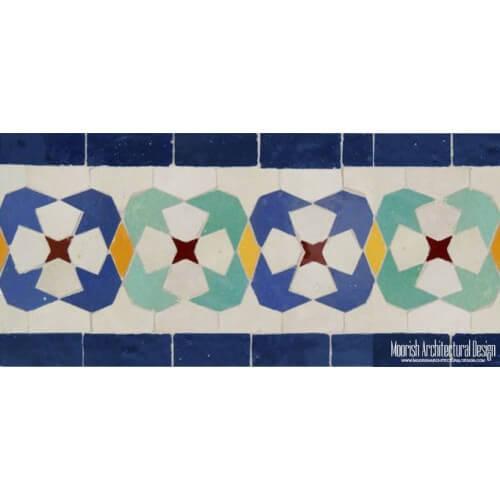Moroccan Border Tile 06