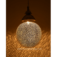 Moroccan bathroom pendant lamp