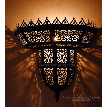 Traditional Moroccan Sconce 02