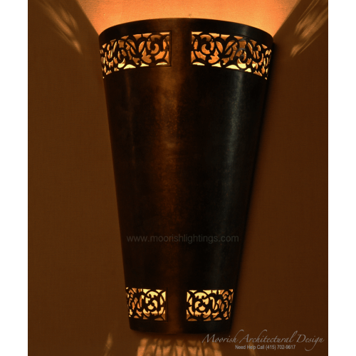 Traditional Moroccan Sconce 03