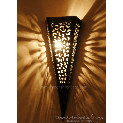 Traditional Moroccan Sconce 04