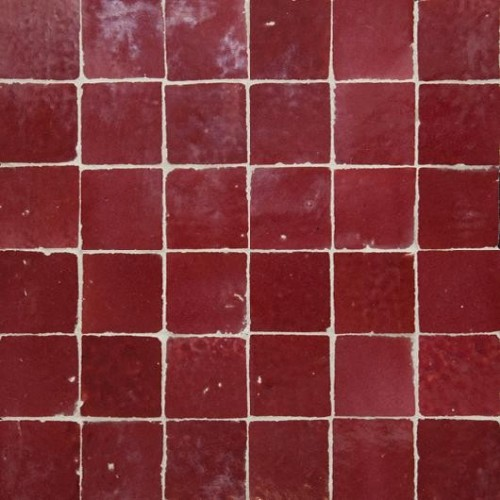 Moroccan Red Tile