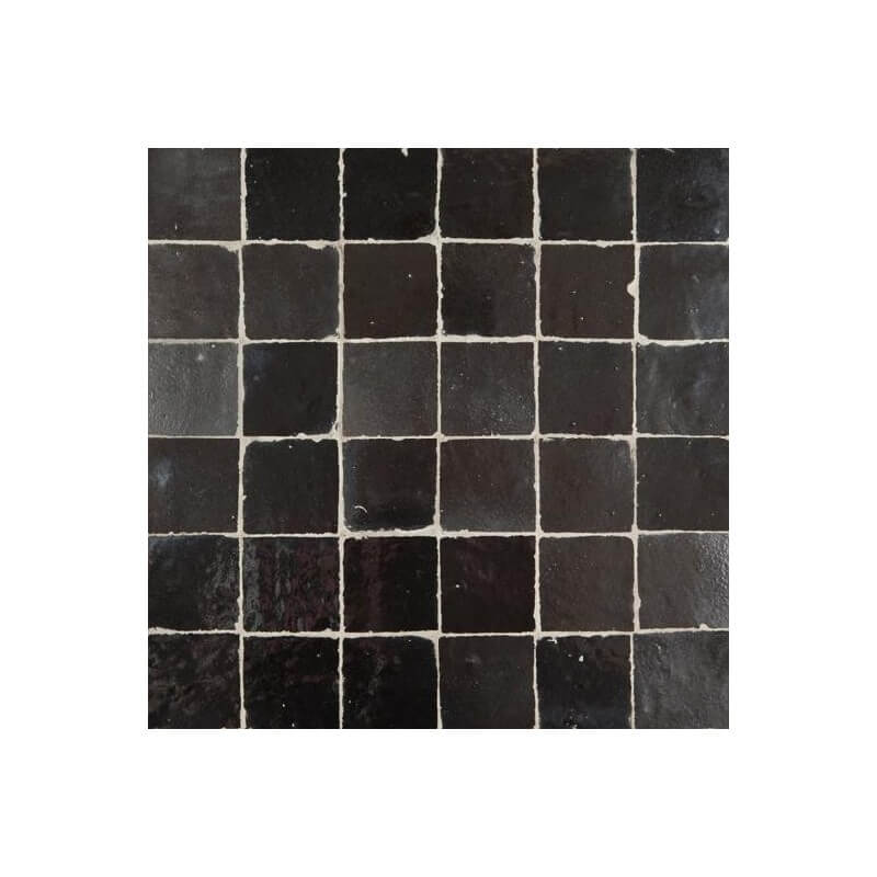 Black Moroccan Tile