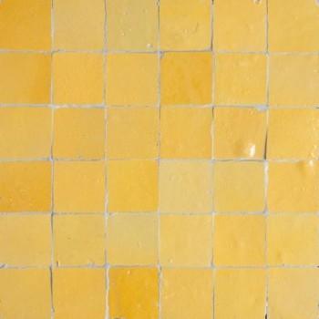Yellow Moroccan Tile
