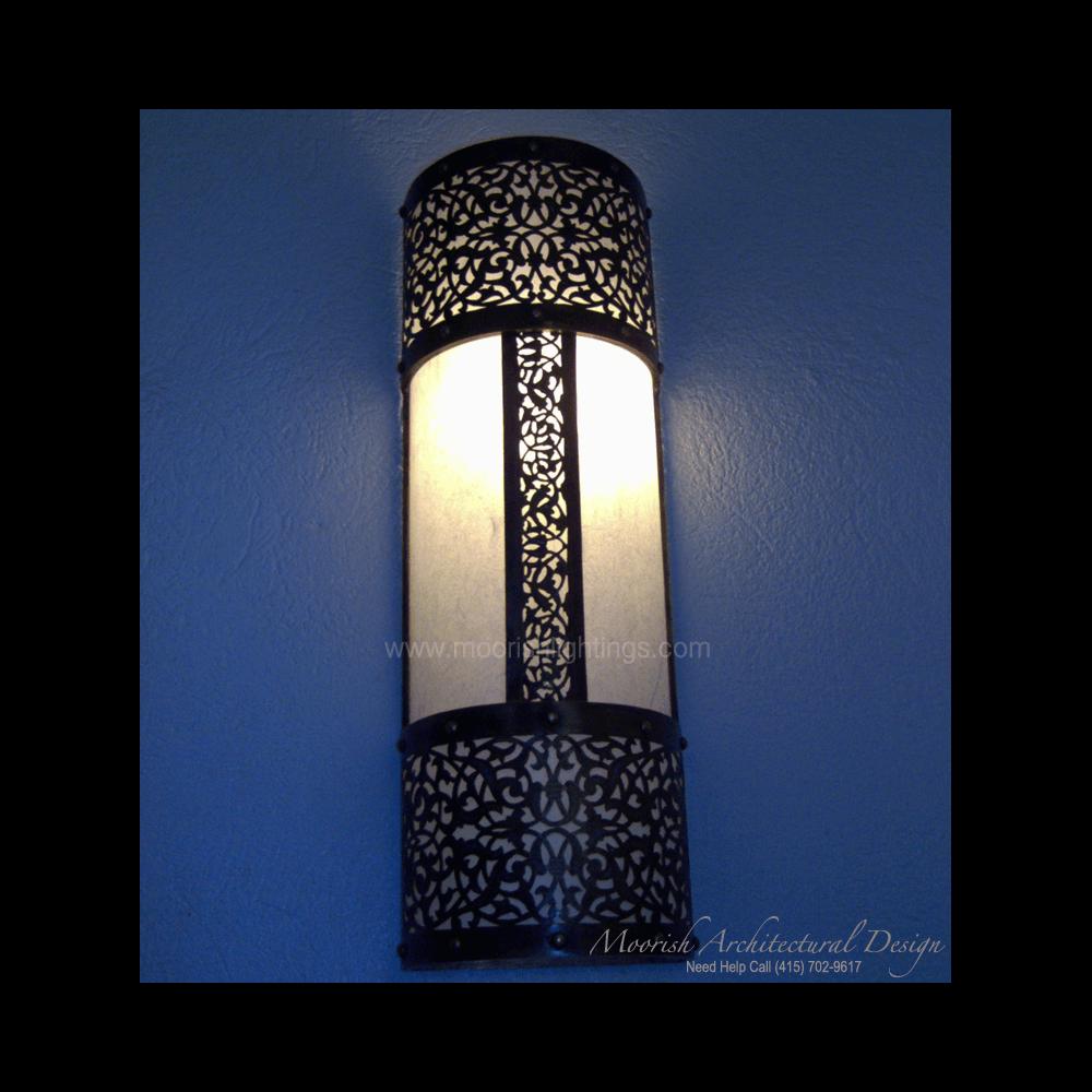 Moroccan Bathroom Wall Lights : Moroccan Sconce Carmel