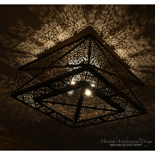 Moroccan Ceiling Light 03