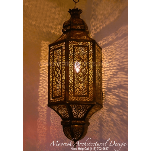 Modern Moroccan Lantern 03