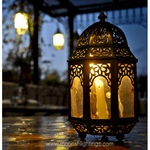 Traditional Moroccan Lamp 02