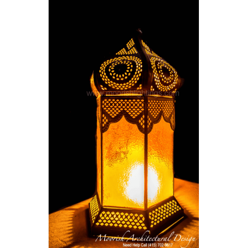 Moorish Lamp Santa Barbara