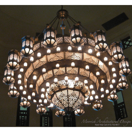 Traditional Moroccan Chandelier 02