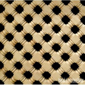 Moroccan Wood Lattice Screen 03