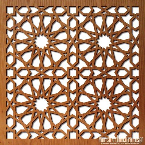 Decorative Wood Screens ~ Jali screen moroccan decorative screens geometric wood