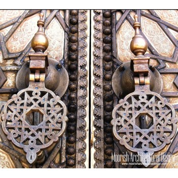 Moroccan Door Knocker 07