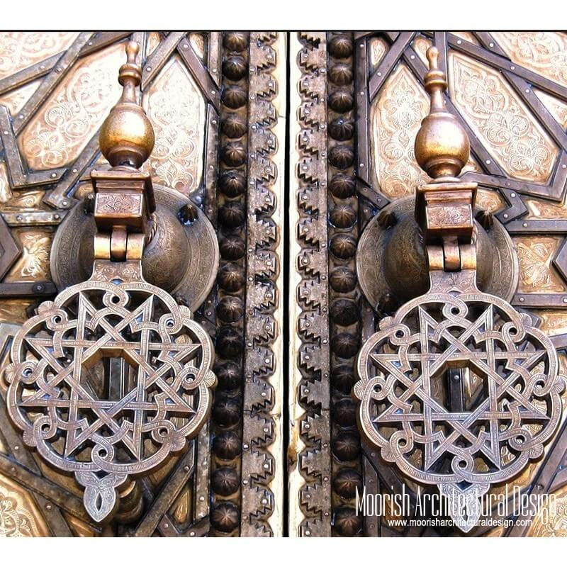 Moroccan door knobs and knockers