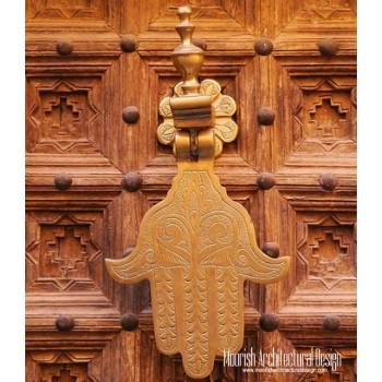 Moroccan Door Knocker 08