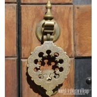 antique bronze door knockers