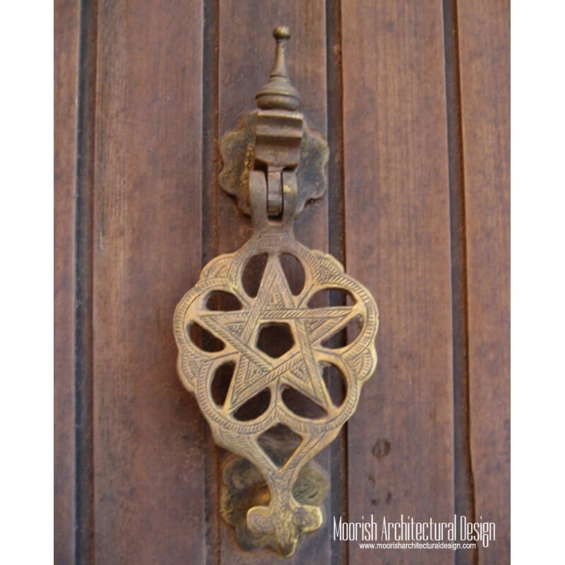 Custom brass architectural hardware