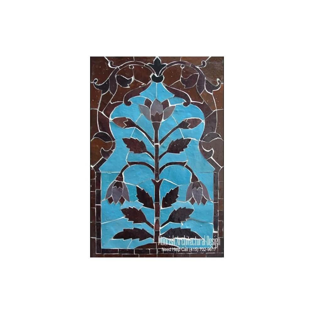 Tile murals for kitchen backsplash wall tile murals for Decorative tile mural