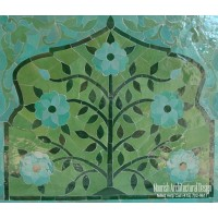 Bathroom Mosaic Tile Mural
