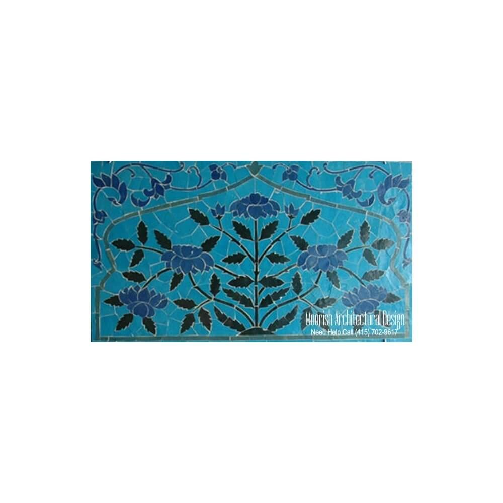 bathroom mosaic tile murals design ideas moroccan tile shower