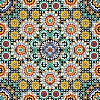 Moroccan Tile Mural 12