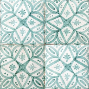 Moroccan Hand Painted Tile 13