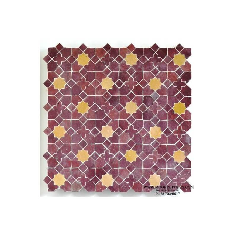 Moroccan bathroom wall tile
