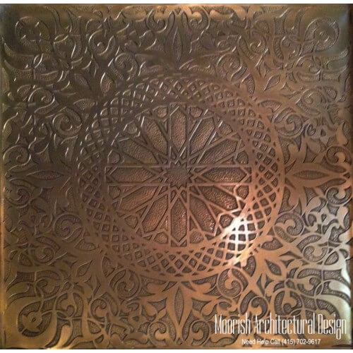 Custom Decorative Brass Metal Panels