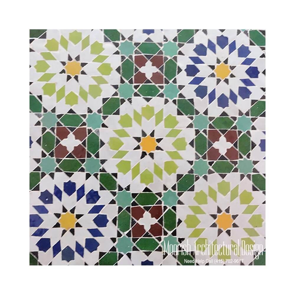 Moroccan Bathroom Tile Moorish Bathroom Tile Design Ideas Moroccan Ceramic Tiles Zellige