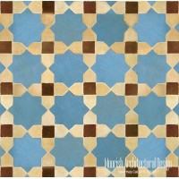 Moroccan wall tile