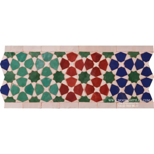 Moroccan Border Tile 60