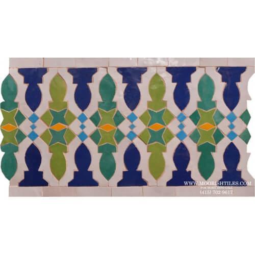 Moroccan Border Tile 63